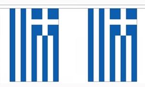 Image of   Grækenland Guirlander 3m (10 flag)