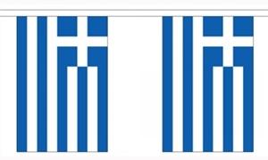 Image of   Grækenland Guirlander 9m (30 flag)