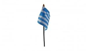 Image of   Grækenland Håndflag (10x15cm)