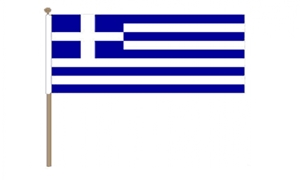 Image of   Grækenland Håndflag (30x45cm)