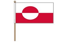 Image of   Grønland Håndflag (30x45cm)