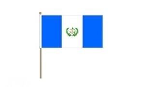 Image of   Guatemala Håndflag (30x45cm)