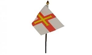 Image of   Guernsey Håndflag (10x15cm)