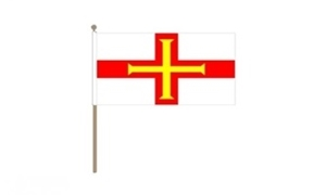 Image of   Guernsey Håndflag (30x45cm)