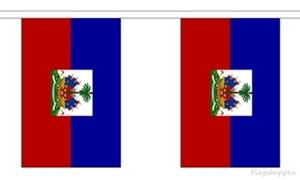 Image of   Haiti Guirlander 3m (10 flag)
