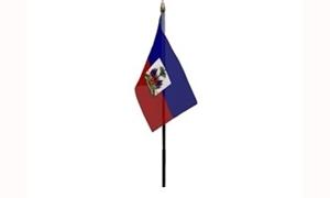 Image of   Haiti Håndflag (10x15cm)