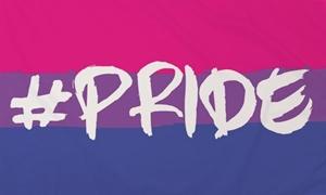 Image of   Hashtag Pride (Bisexual) Flag (90x150cm)