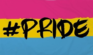 Image of   Hashtag Pride (Pansexual) Flag (90x150cm)