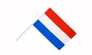 Image of   Holland Håndholdt Papirflag (20x27cm)