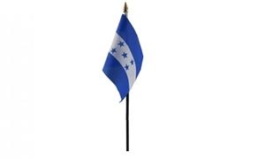 Image of   Honduras Håndflag (10x15cm)