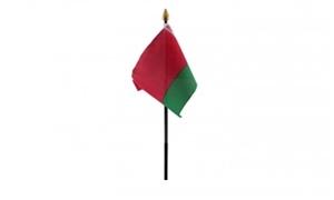 Image of   Hviderusland Håndflag (10x15cm)