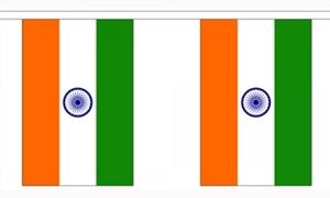 Image of   Indien Guirlander 3m (10 flag)
