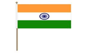 Image of   Indien Håndflag (30x45cm)