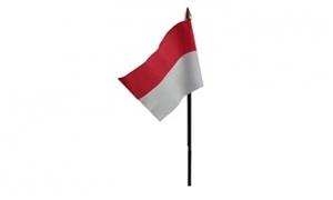 Image of   Indonesien Håndflag (10x15cm)