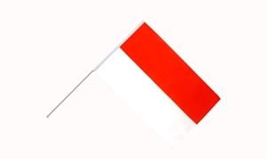 Image of   Indonesien Håndflag (15x22cm)