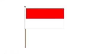 Image of   Indonesien Håndflag (30x45cm)