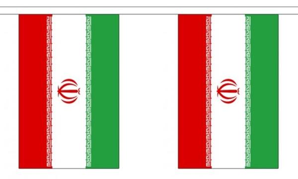 Billede af Iran Guirlander 3m (10 flag)