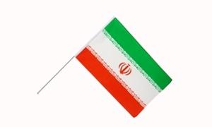 Image of   Iran Håndflag (15x22cm)