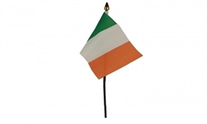Image of   Irland Håndflag (10x15cm)