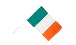 Image of   Irland Håndholdt Papirflag (20x27cm)