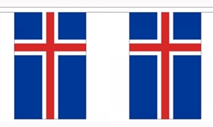 Image of   Island Guirlander 3m (10 flag)