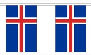 Image of   Island Guirlander 9m (30 flag)