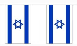 Billede af Israel Guirlander 9m (30 flag)