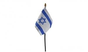 Image of   Israel Håndflag (10x15cm)
