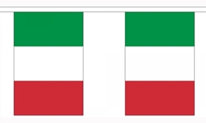 Image of   Italien Guirlander 3m (10 flag)