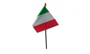 Image of   Italien Håndflag (10x15cm)