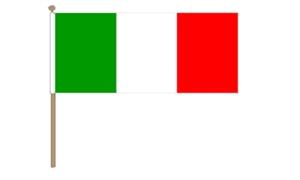 Image of   Italien Håndflag (30x45cm)