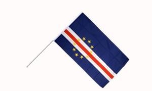 Image of   Kap Verde Håndflag (15x22cm)
