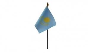 Image of   Kasakhstan Håndflag (10x15cm)