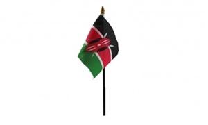 Image of   Kenya Håndflag (10x15cm)