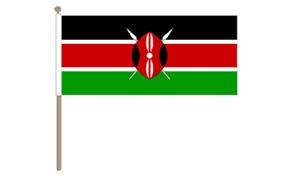 Image of   Kenya Håndflag (30x45cm)