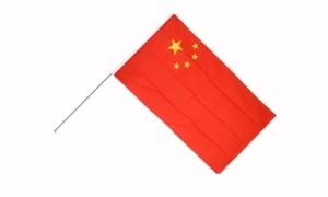 Image of   Kina Håndflag (15x22cm)