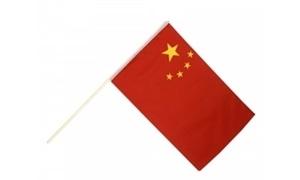 Image of   Kina Håndholdt Papirflag (20x27cm)
