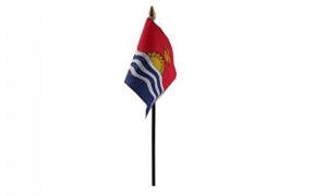 Image of   Kiribati Håndflag (10x15cm)