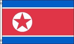 Image of   Korea, Nord Flag (90x150cm)