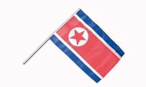 Image of   Korea, Nord Håndflag (15x22cm)