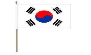 Image of   Korea, Syd Håndflag (30x45cm)