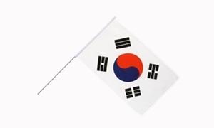 Image of   Korea, Syd Håndholdt Papirflag (20x27cm)