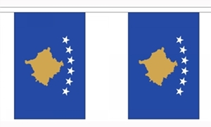 Image of   Kosovo Guirlander 3m (10 flag)