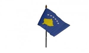 Image of   Kosovo Håndflag (10x15cm)