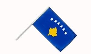 Image of   Kosovo Håndflag (15x22cm)