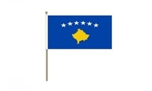 Image of   Kosovo Håndflag (30x45cm)