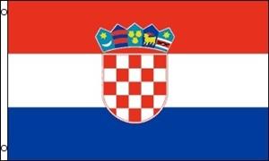 Image of   Kroatien Flag (90x150cm)