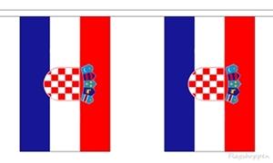 Image of   Kroatien Guirlander 9m (30 flag)