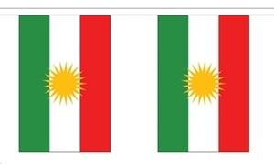 Image of   Kurdistan Guirlander 3m (10 flag)