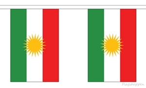 Image of   Kurdistan Guirlander 9m (30 flag)